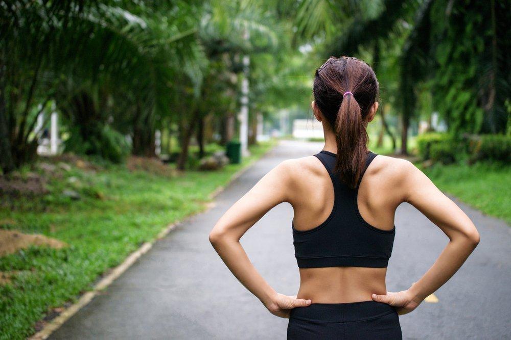 Бег для похудения талии