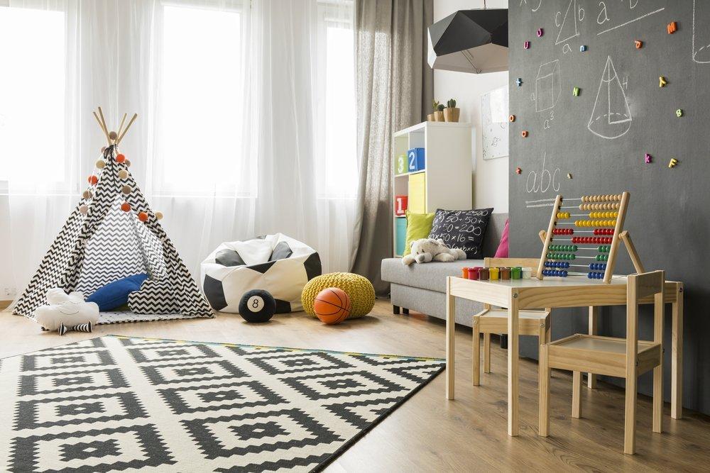 Оборудование комнаты в зависимости от возраста детей