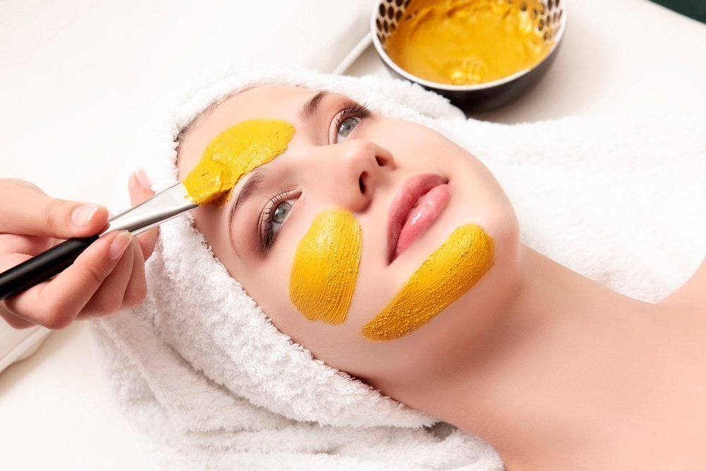 Секрет 6: Оздоровление кожи куркумой
