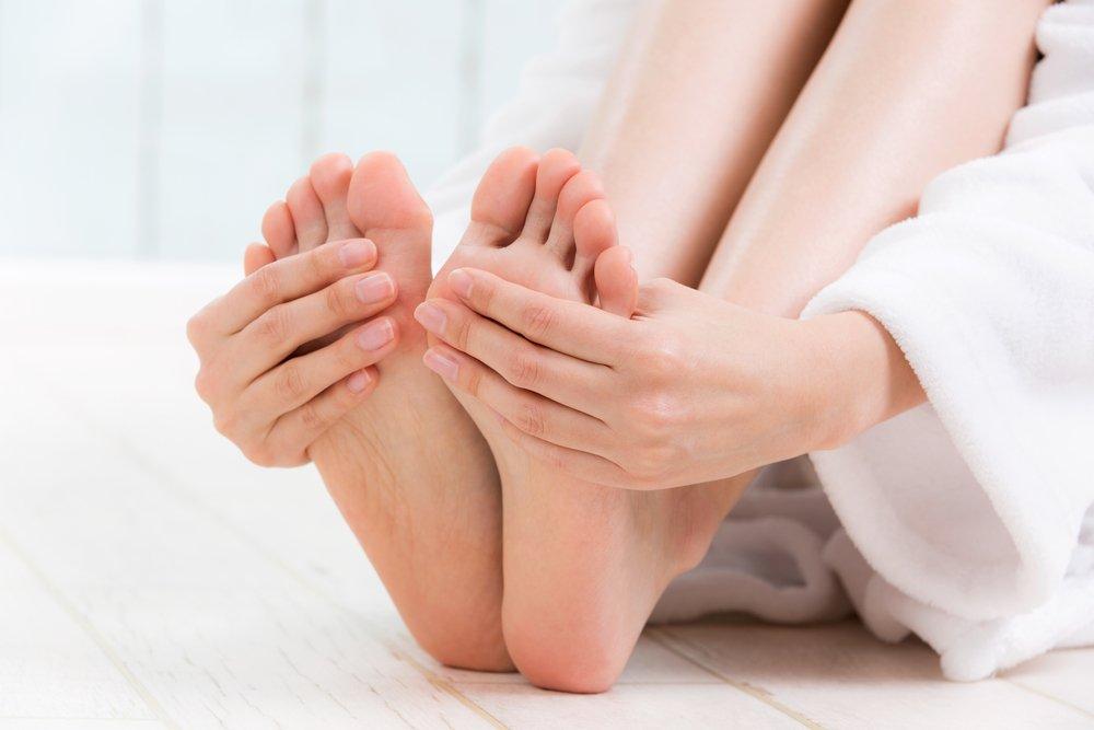 Холодные пальцы рук и ног