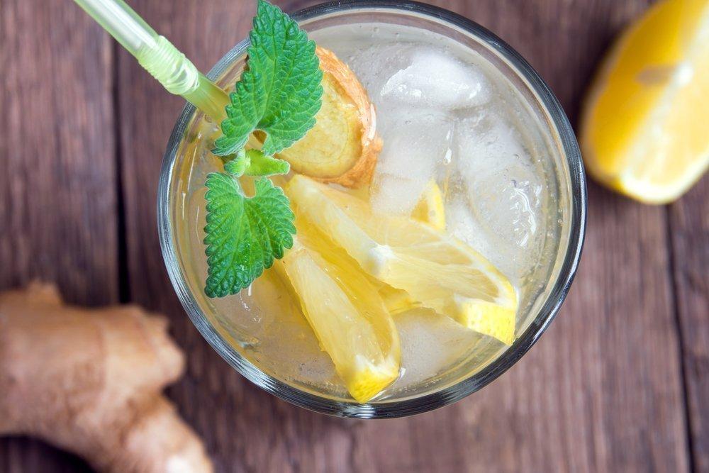Бодрящие витамины: безалкогольный имбирный эль