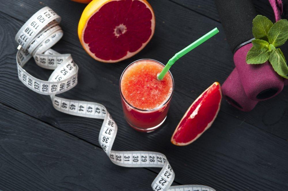 Примеры диет на основе грейпфрута