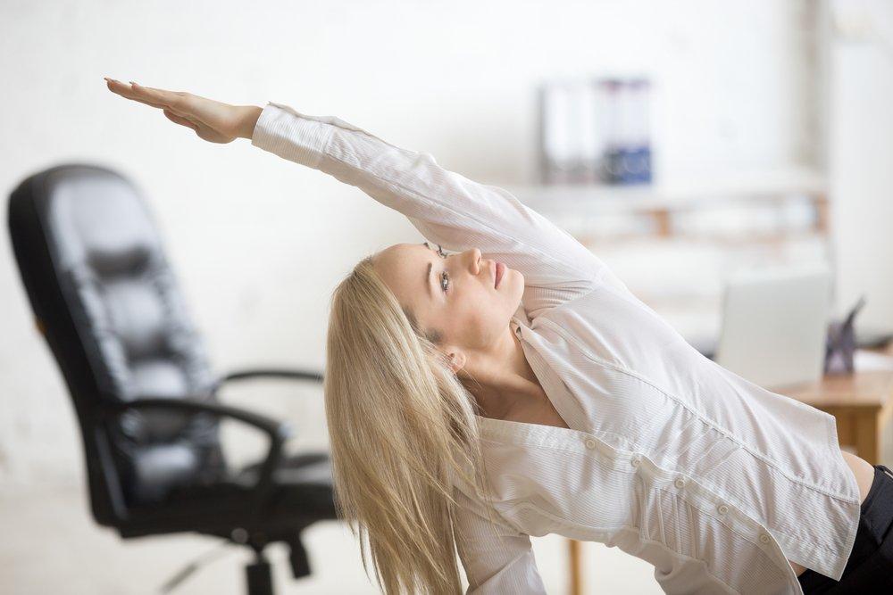 Упражнения для снятия усталости