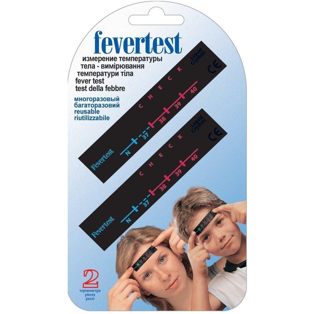 Жидкокристаллический термометр Fevertest