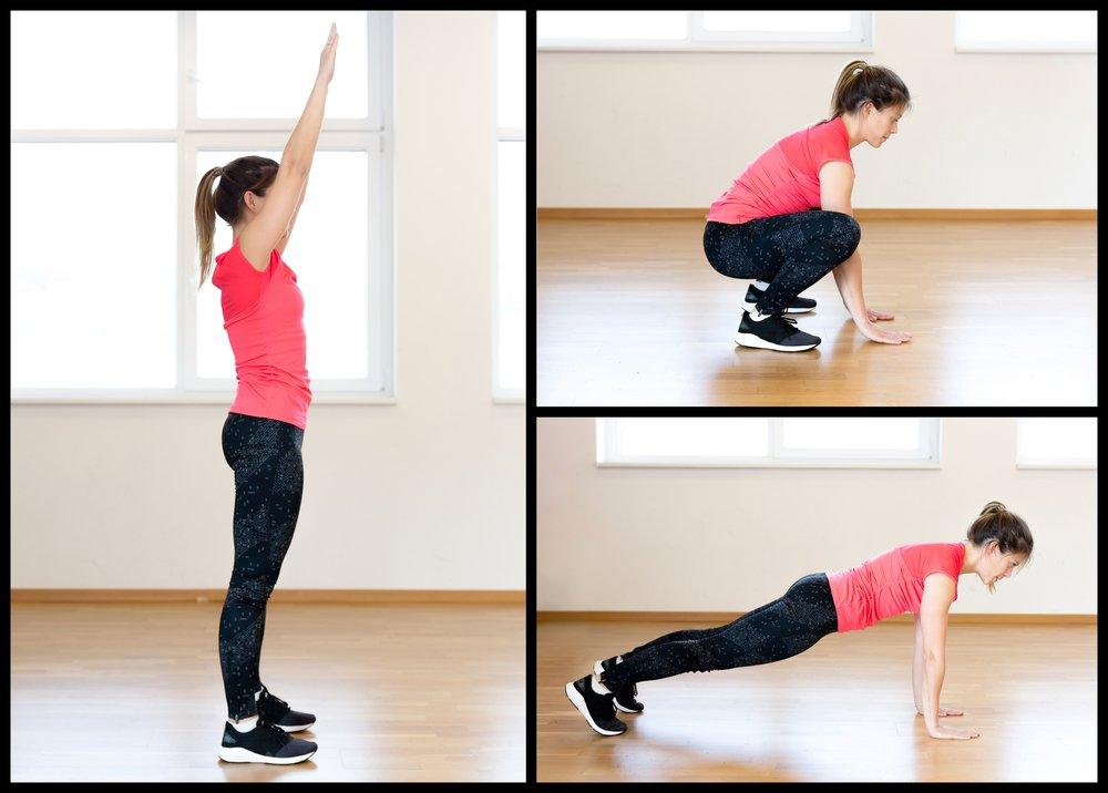 Берпи — эффективное фитнес-упражнение