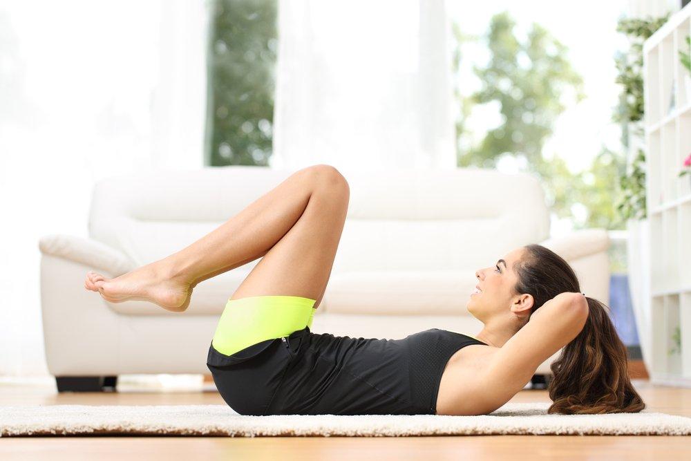 Правила занятий и питания для похудения живота и укрепления мышц пресса