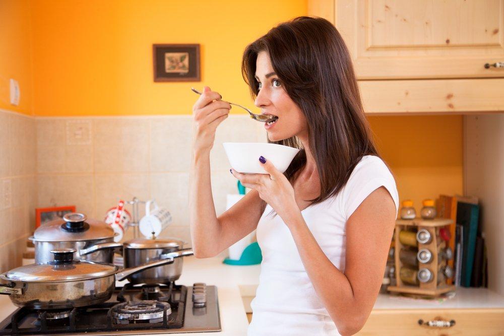 8. Потеря вкуса продуктов питания