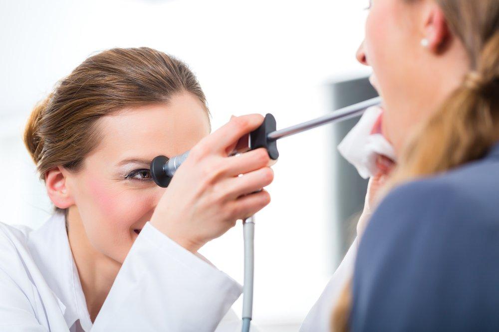 Хронический тонзиллит небных миндалин