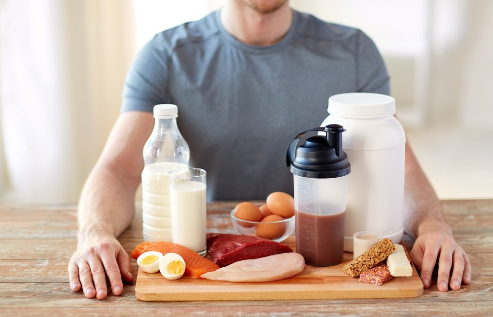 Спортивное питание и силового комплекса упражнений