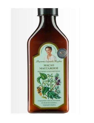 Рецепты бабушки Агафьи Масло массажное антицеллюлитное, 250 мл Источник: 1reshenie.ru