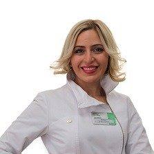 Тамара Отаровна Размадзе, заведующая косметологическим отделением, врач дерматолог-косметолог