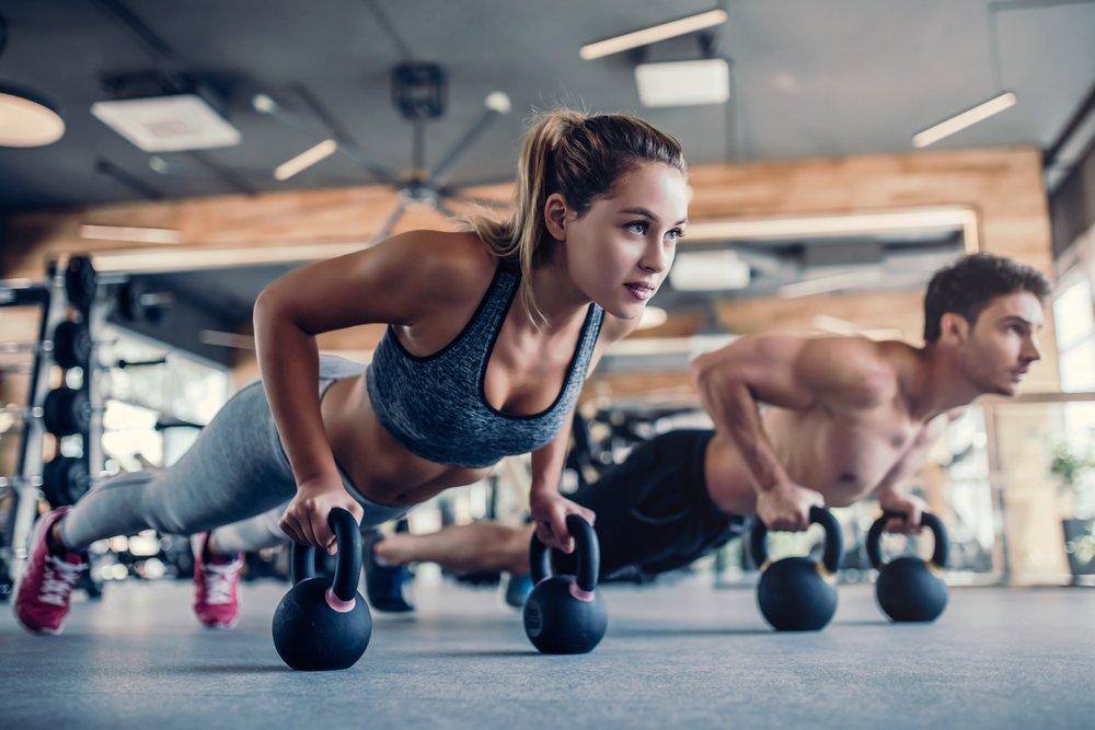 Фитнес-программа для тренинга с гирей