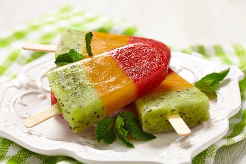 Сорбет из фруктов