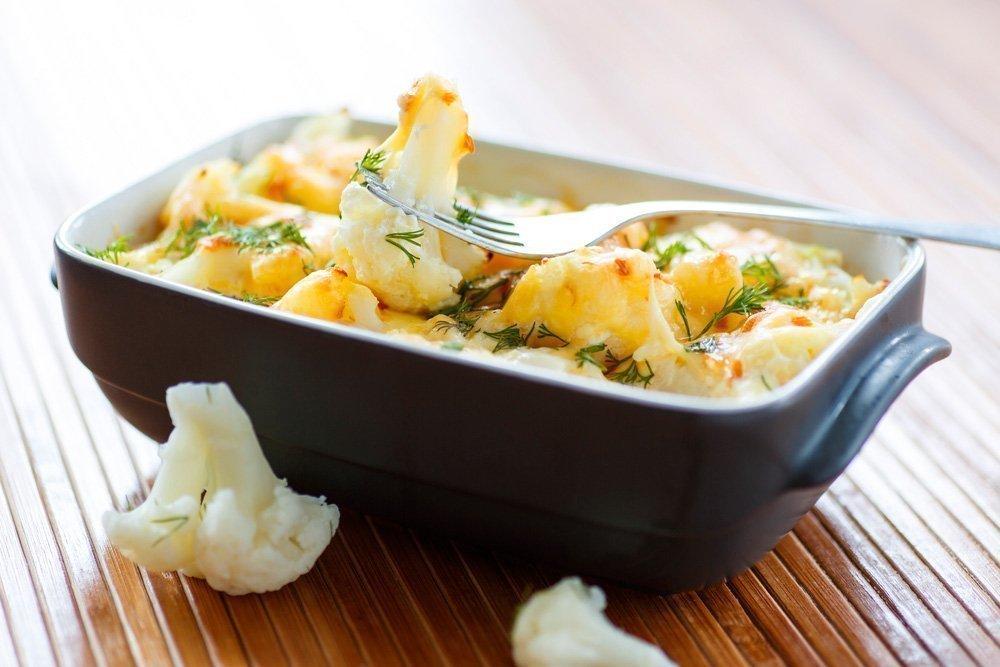 Рецепты диетических блюд с цветной капустой