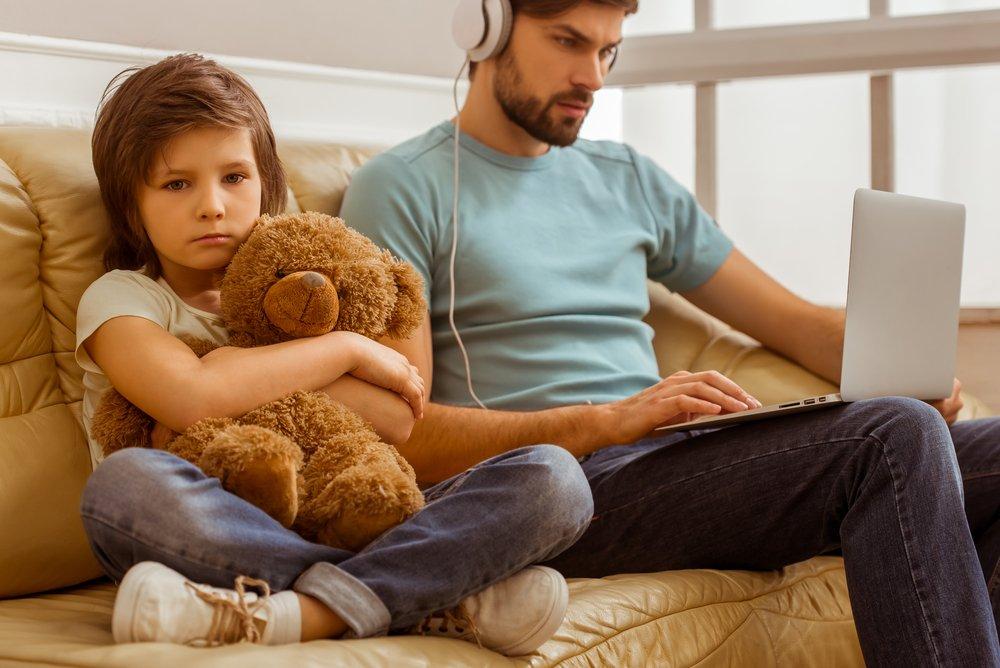 Недостаток внимания родителей