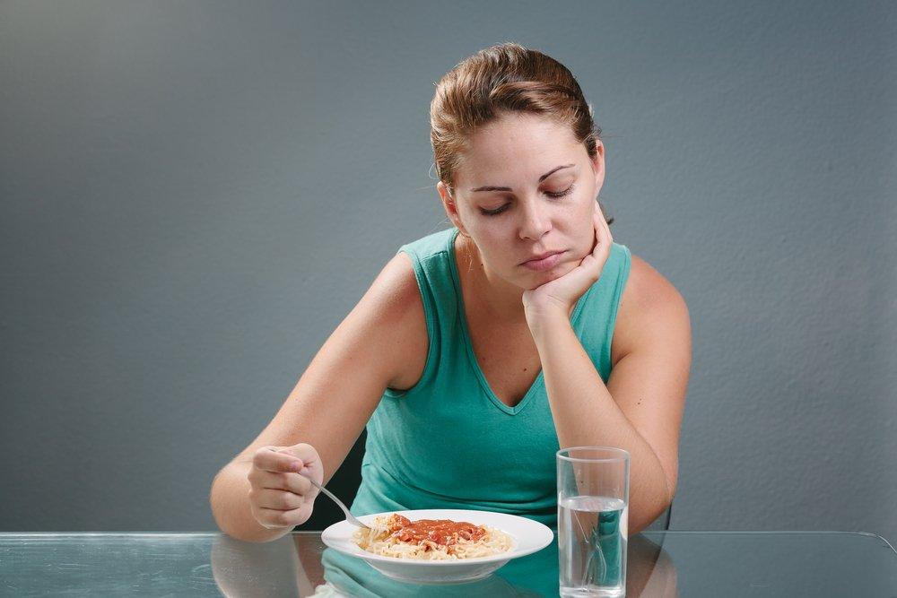10. Потеря аппетита