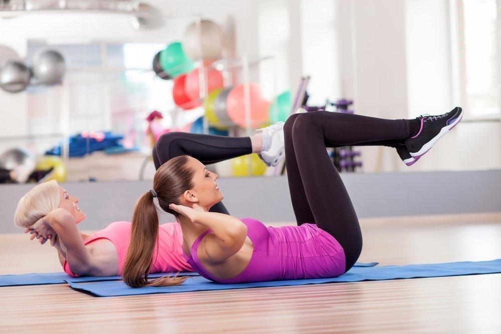 Физические упражнения для тонкой талии и план их выполнения