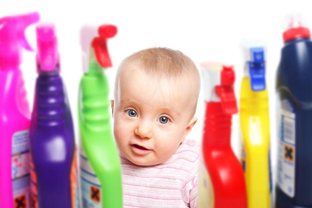 Причины химических ожогов у ребенка