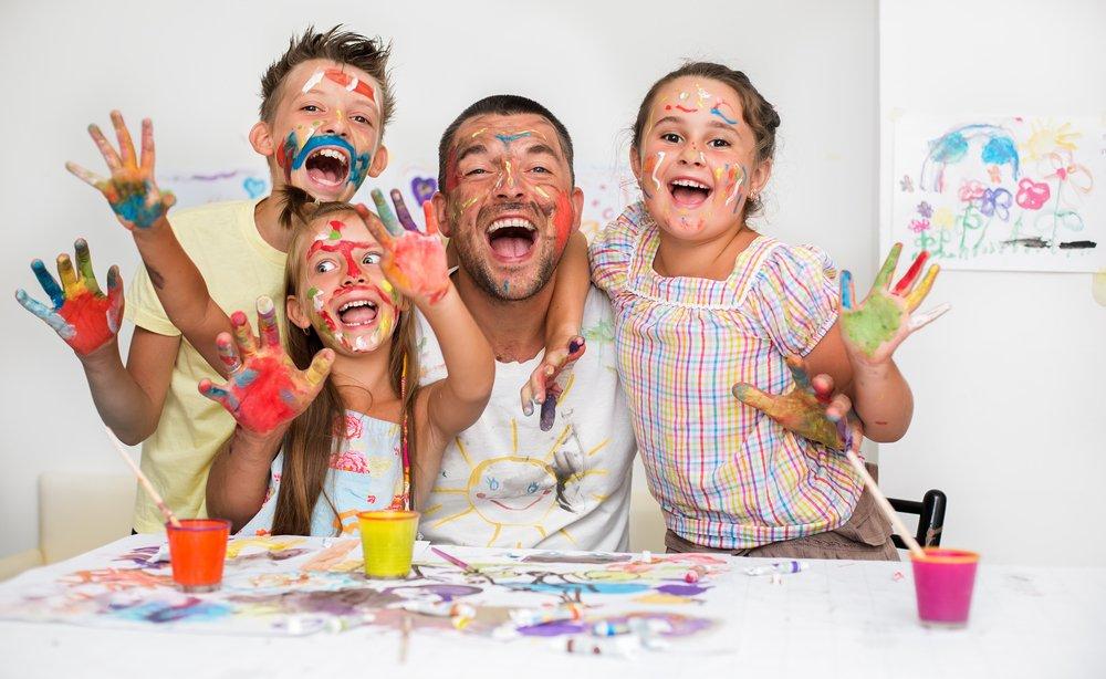 Творчество для матери, отца и ребенка