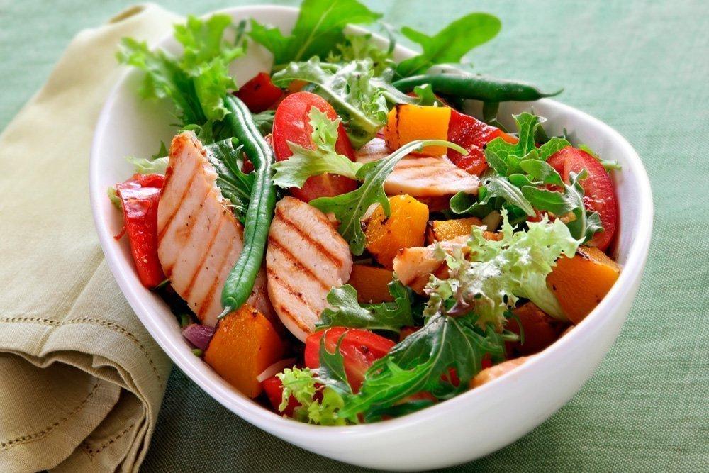 Какой Салат Подходит Для Диеты. Лучшие рецепты жиросжигающих салатов для похудения