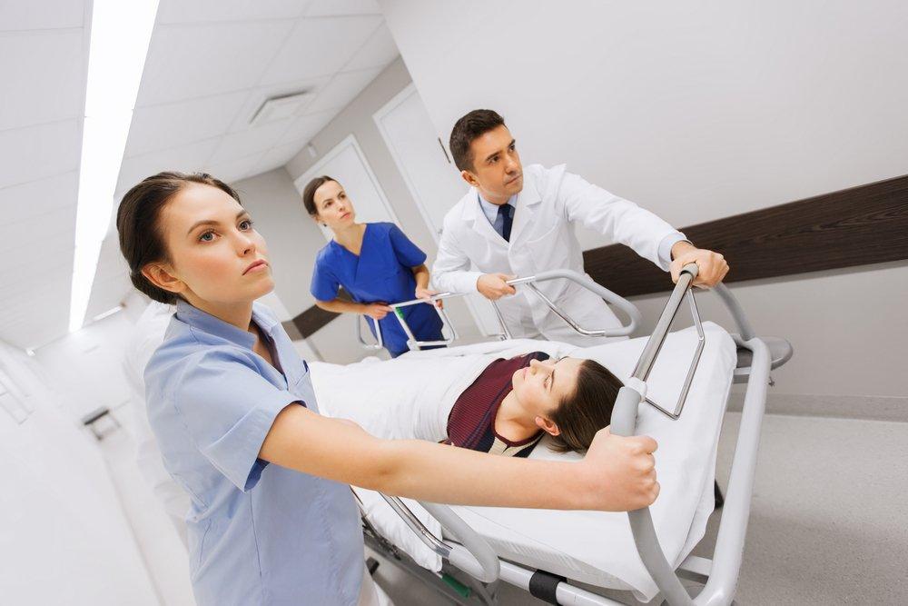 Рвота и диарея — причины госпитализации