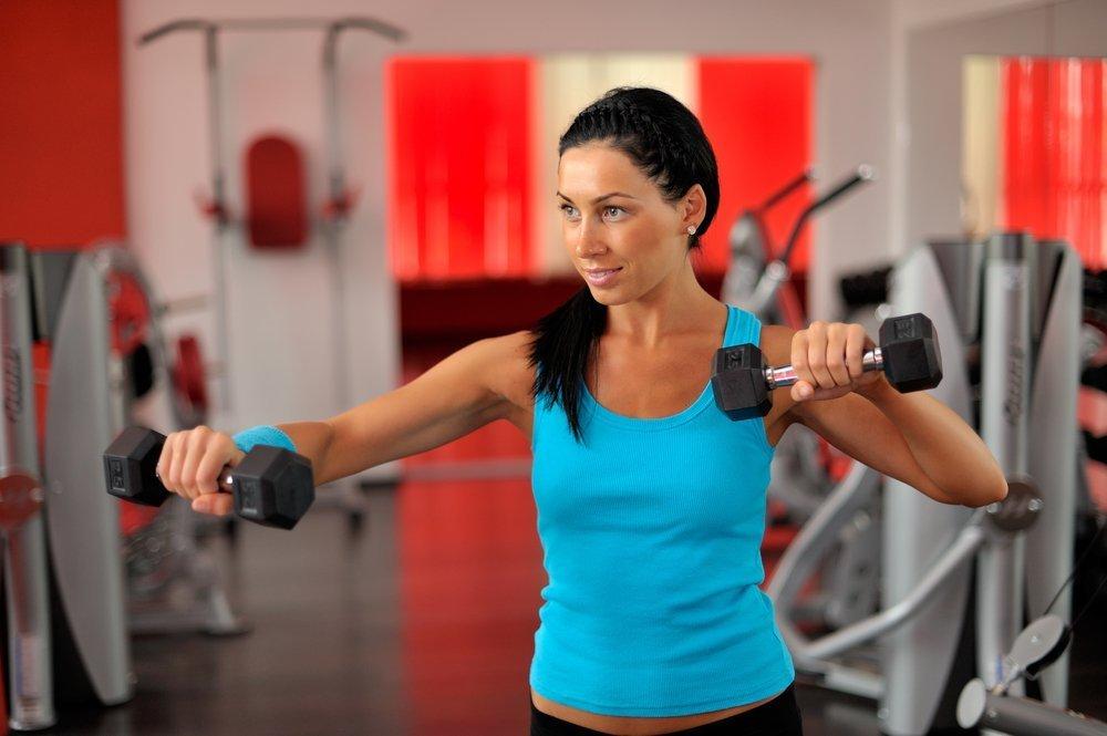 Примерный фитнес-комплекс для женщин