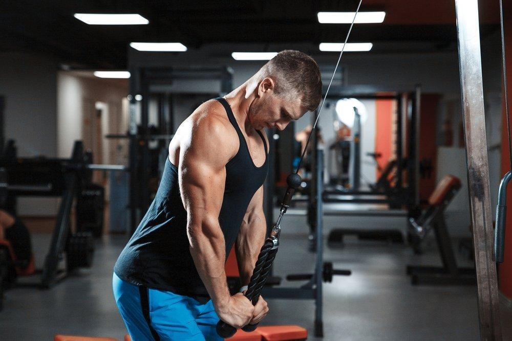 Комплекс упражнений для тренировки трицепса