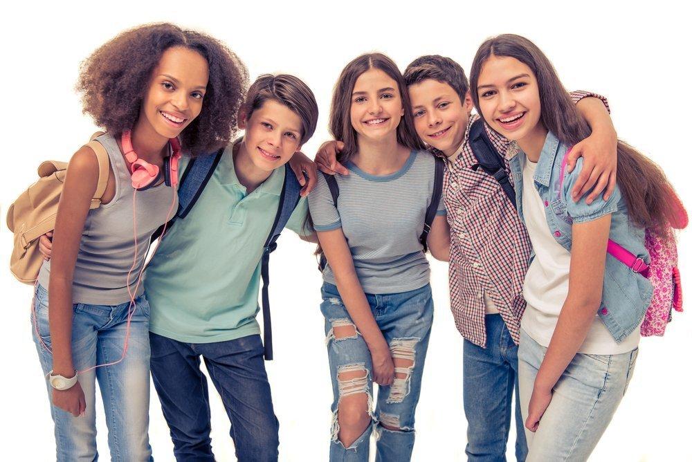 Хорошая дружба в школе