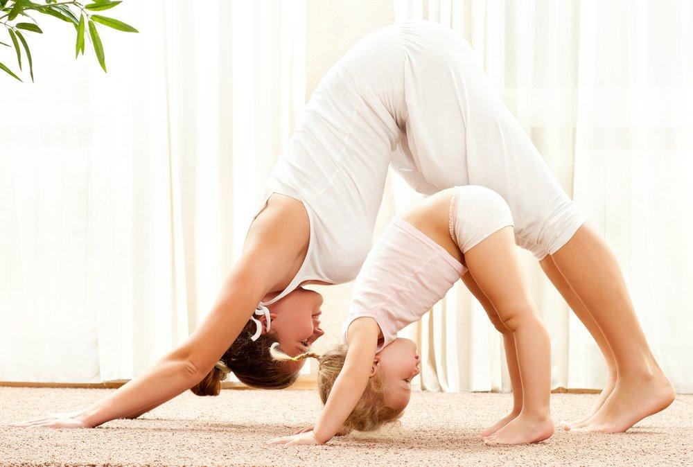 Йога: упражнения для малышей