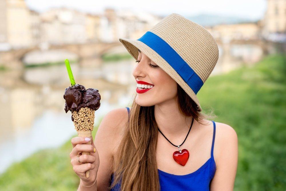 Шоколадное мороженое против депрессии
