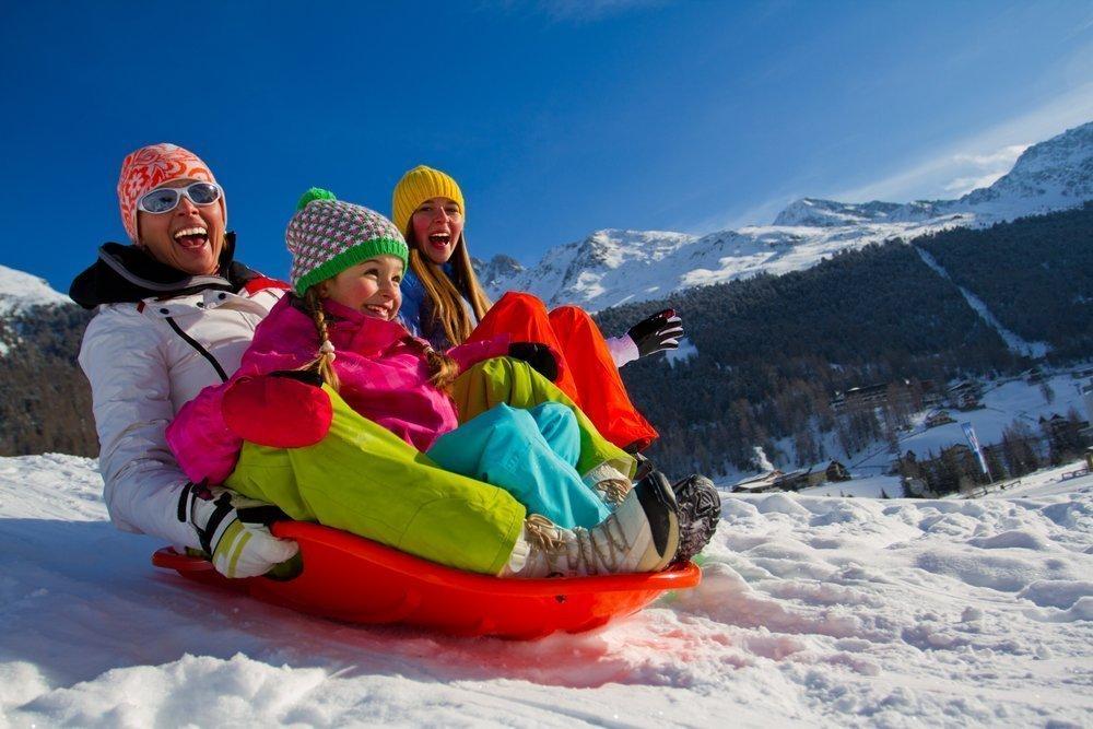 Зимние развлечения для детей и их родителей