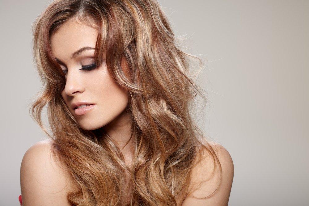 Каскад и лесенка на тонких волосах