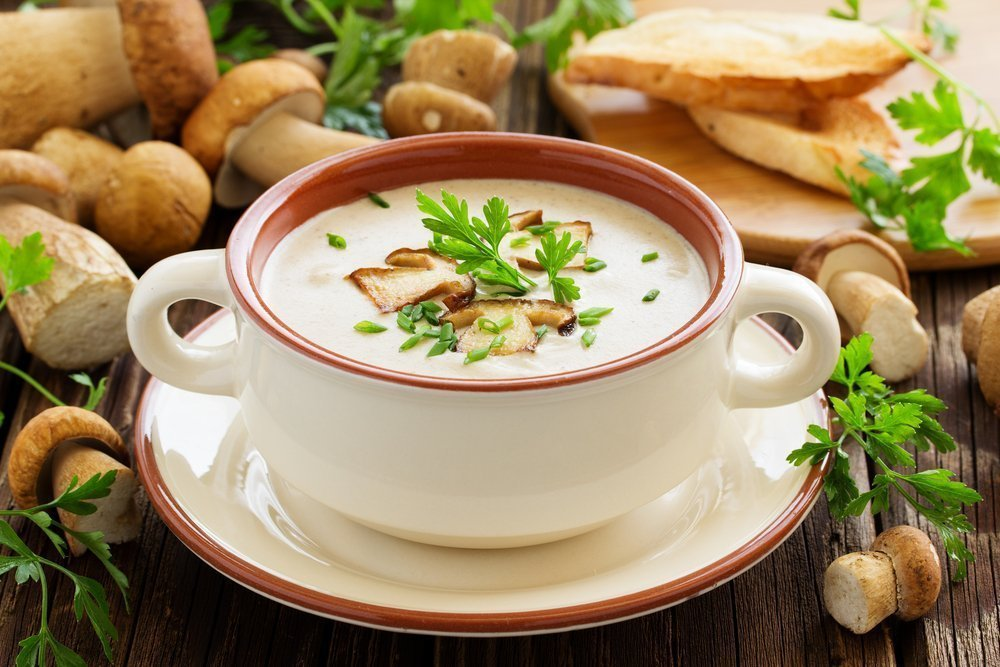 Рецепты блюд с грибами для здоровья и красоты