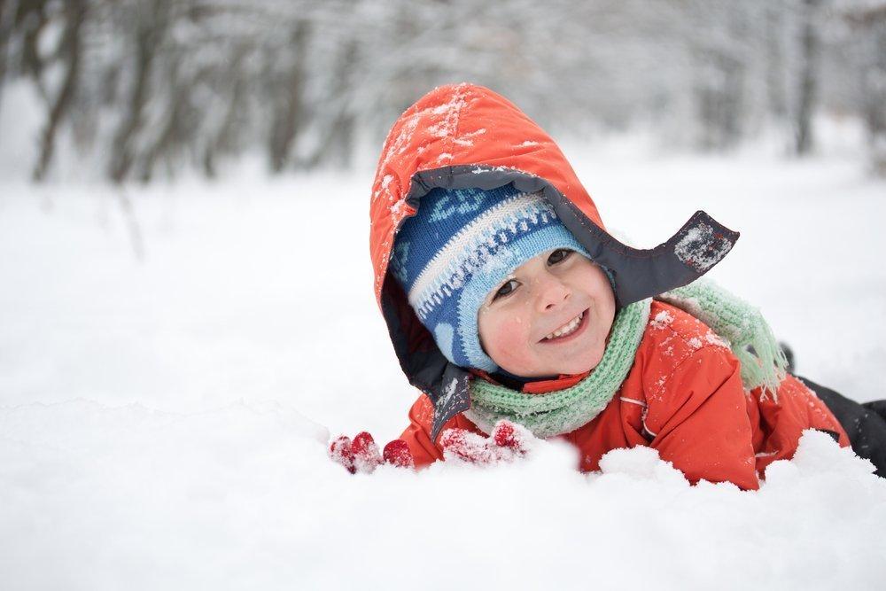 Детей нужно одевать по погоде