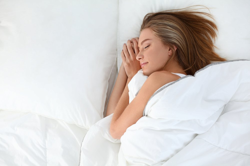 Во время сна улучшается кровоснабжение кожи головы и лица