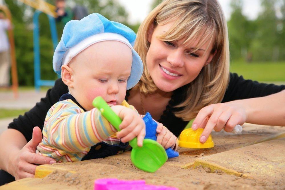 Игры в песочнице для развития ребенка