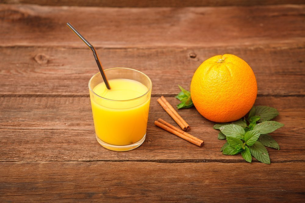 Фрукты + сыворотка: апельсиновый коктейль