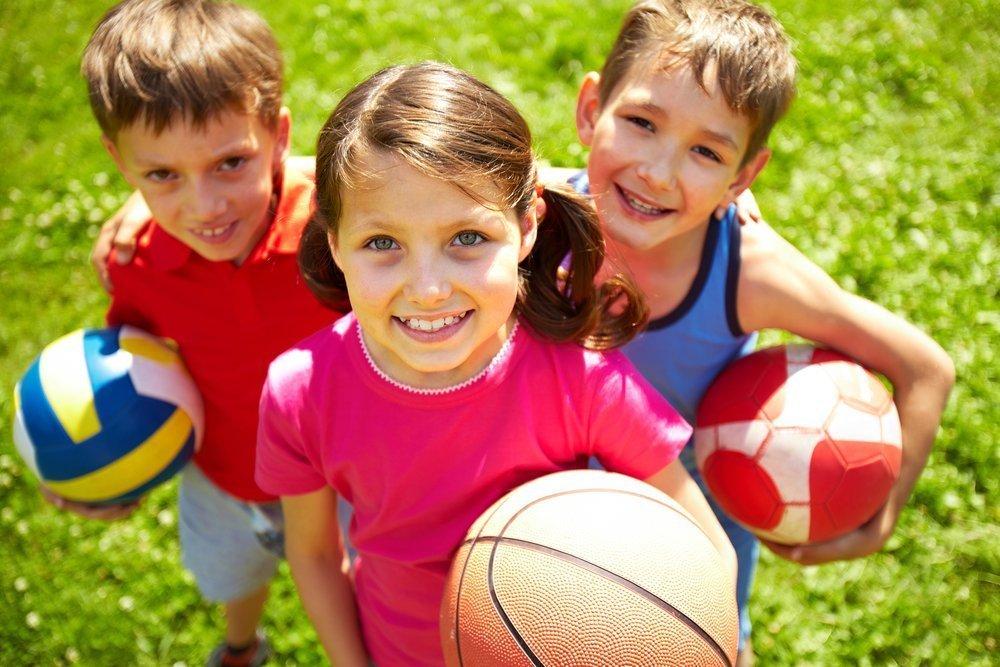 Как приучить детей к спортивной активности