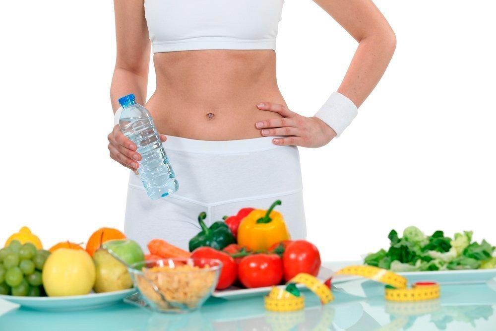 Похудение с помощью цветной диеты