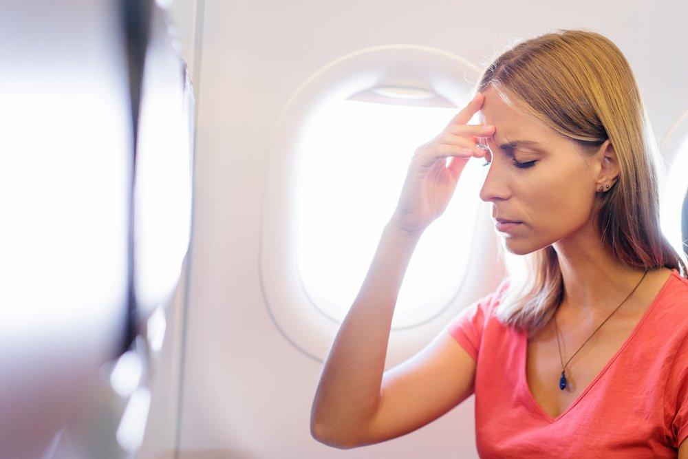Симптомы аэрофобии