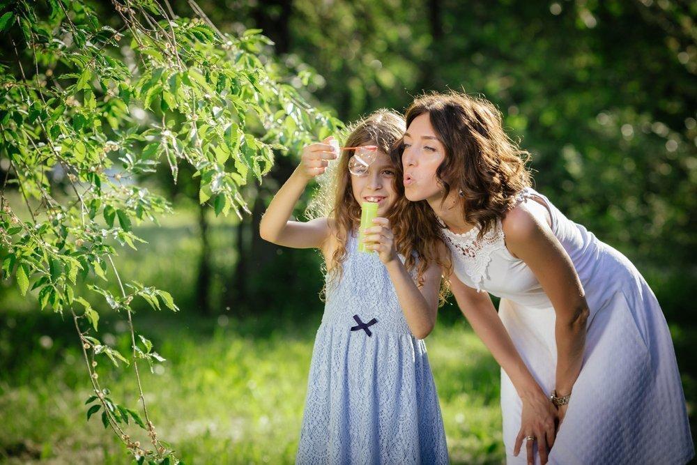 Родители-оптимисты — пример для детей