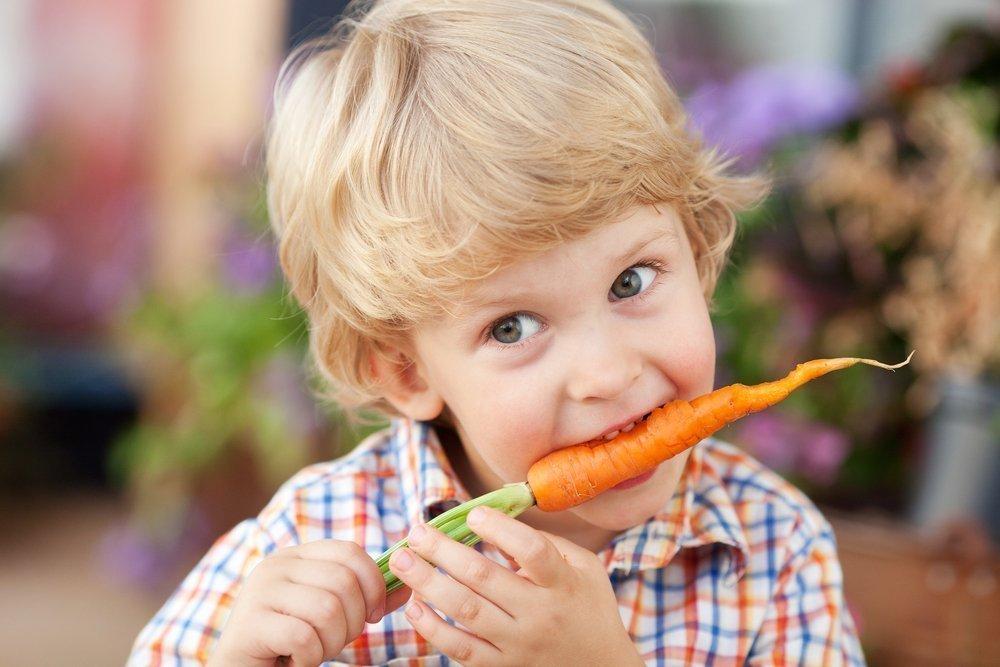 Чем полезна морковь для малыша?