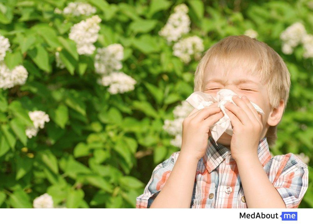Аллергия у детей старше двух лет