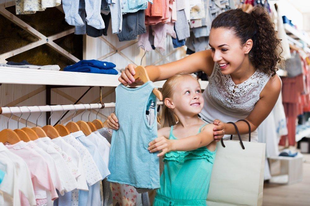 1. Примерять ребенку одежду перед покупкой