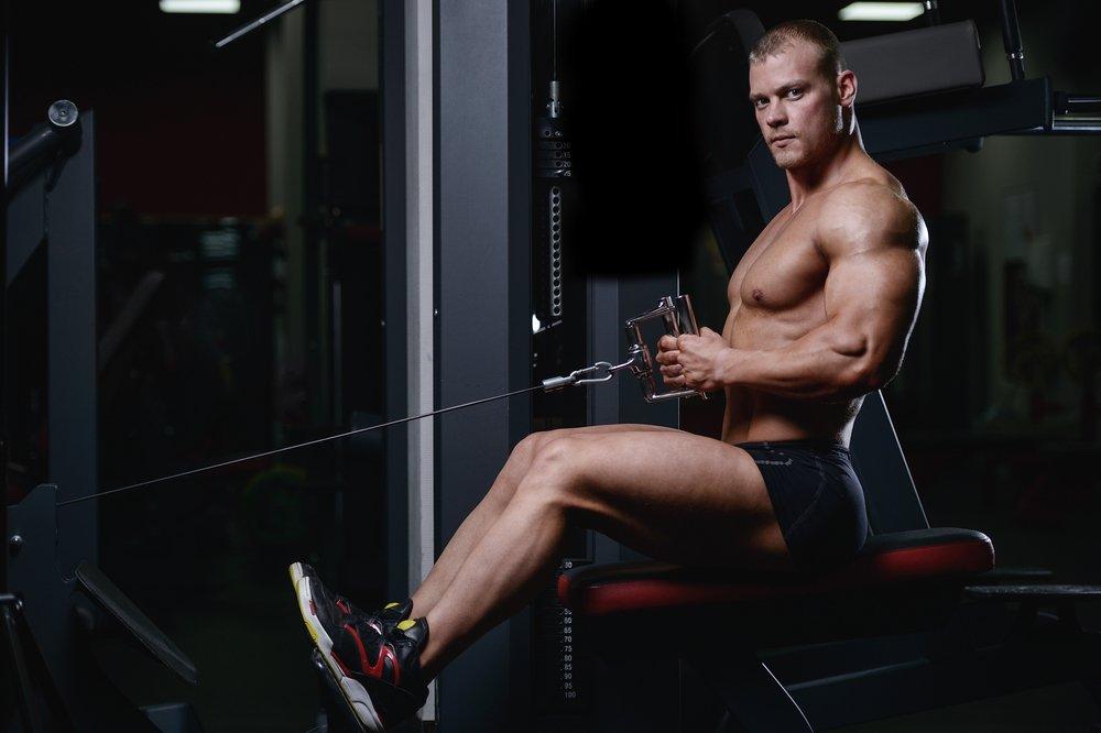 Мышцы, подвергающиеся физической нагрузке при выполнении тяги