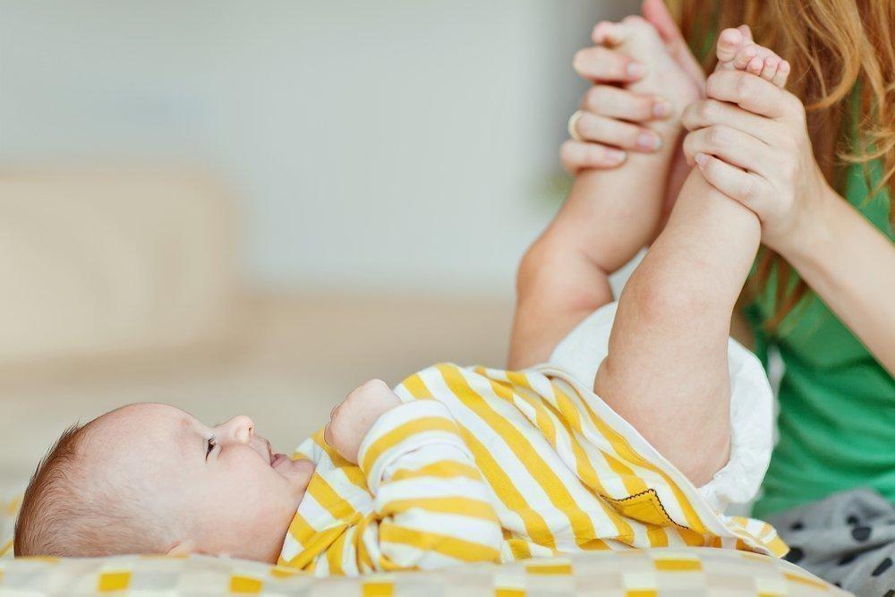Техника домашнего массажа для малыша