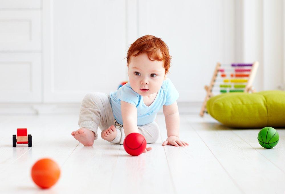 От полугода до года: развитие ребенка