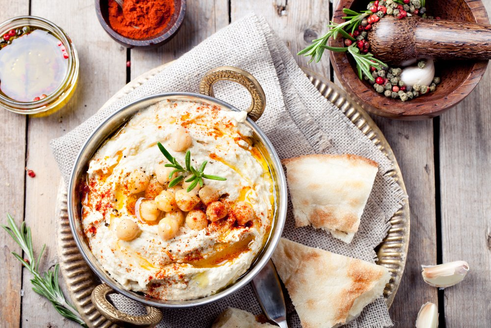 Классический рецепт арабской закуски