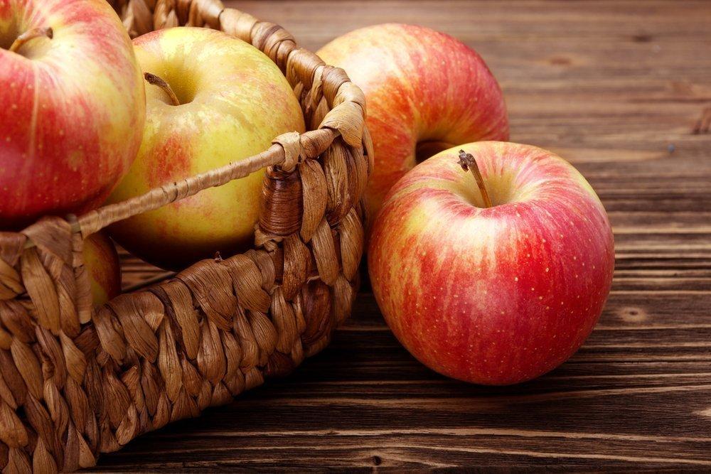 Яблоки для здоровья и витамины