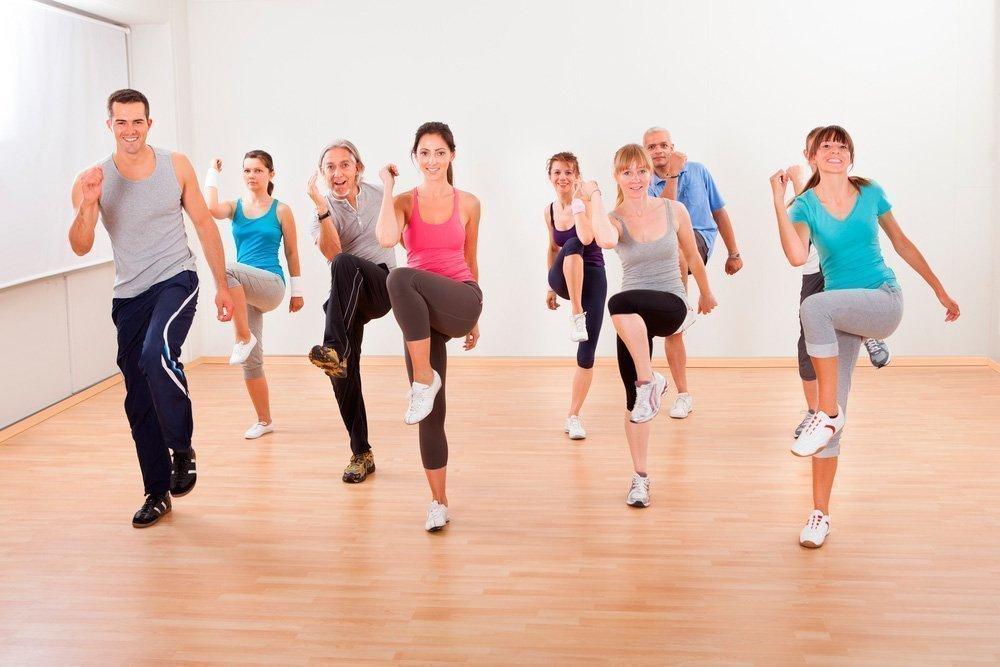 Повышение нагрузки на аэробных фитнес-тренировках